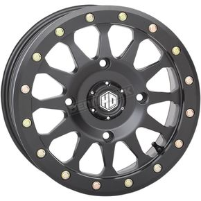 Matte Black Beadlock Wheel - 15HA127