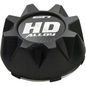 Matte Black Universal Center Cap - CAPSTH2137