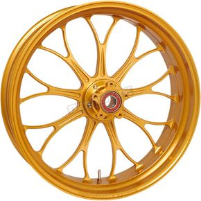 Gold Rear Revolution 18x5.5 Wheel   - 12697814RRVNAPG