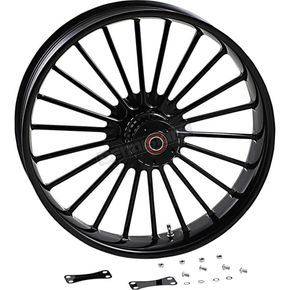 Gloss Black Front Forged Dual Disk Illusion Wheel w/o ABS - 0321350-126B