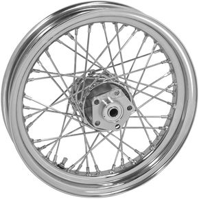 Chrome Tubeless 16x3.00 40 Spoke Front/Rear Wheel - 51705