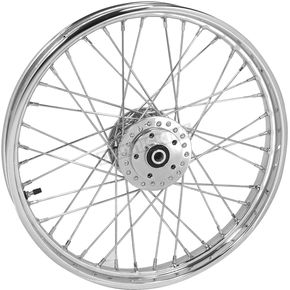 Chrome Tubeless 21x2.15 40 Spoke Front Wheel - 51702