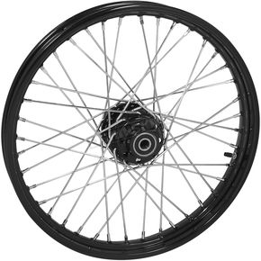 Black Tubeless 21x2.15 40 Spoke Front Wheel - 51713