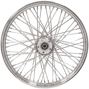 Chrome 23x3.00 60 Spoke Front Wheel - 51688