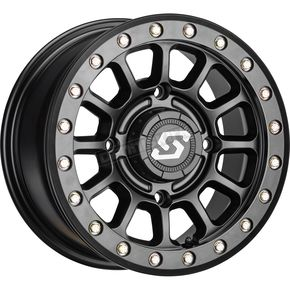Black Sano Beadlock 14x7 Wheel - 570-2017