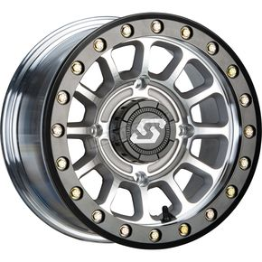 Cast/Black Sano Beadlock 14x7 Wheel - 570-2020