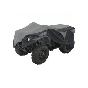 Classic Accessories Black/Gray XX-Large ATV Deluxe Storage Cover - 15-063-063804-0