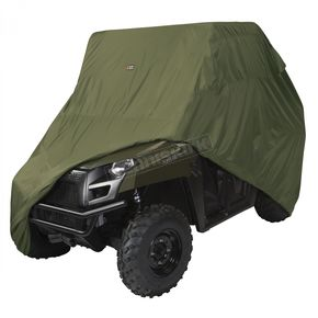 Classic Accessories Olive Drab Larger 2-3 Passenger UTV Storage Cover - 18-075-051401-0