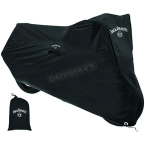 Jack Daniels Black Motorcycle Cover - 106-257