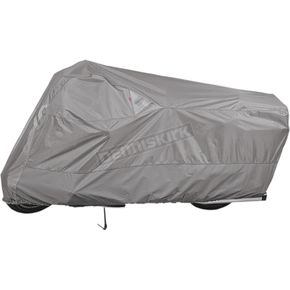 Gray Weatherall Plus Motorcycle Cover