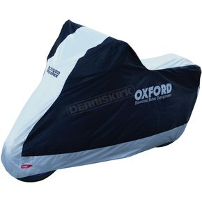 Black/Silver Aquatex Motorcycle Cover - CV204