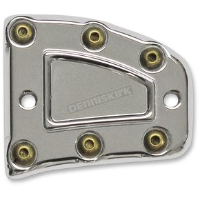 Carl Brouhard Designs Chrome Bomber Series Front Master Cylinder Cover - MC-ISF-C