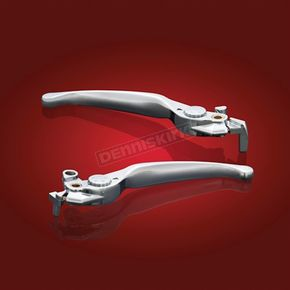 Chrome Smooth Lever Set - 18-111BC