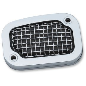 Kuryakyn Chrome Mesh Brake Master Cylinder Cover - 6536