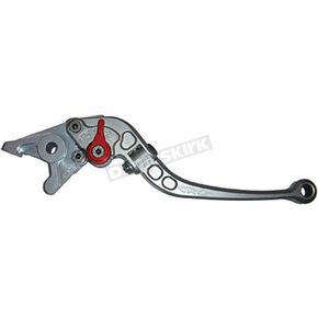 Constructors Racing Group Gray Folding Roll-A-Click Clutch Lever  - AN-621-F