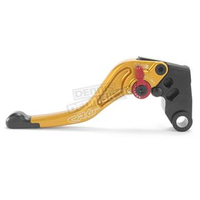 Constructors Racing Group Gold RC2 Shorty Length Clutch Lever - 2AN-684-H-G