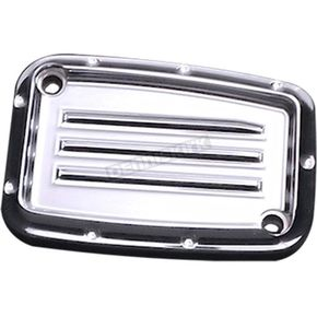 Covingtons Customs Chrome Dimpled Clutch Master Cylinder Cover  - C1178-C
