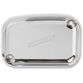 Front Chrome Beveled Clutch Master Cylinder Cover - 03-223