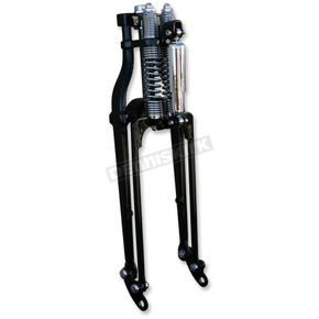 Paughco Black 27 in. Custom Wide Springer Fork Assembly - NS181STBLK