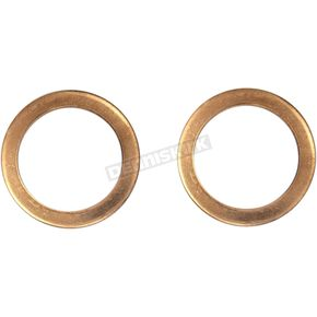 Replacement Washers for Fork Damper Tube Bolt Kit Part No. 274993 - 0419-0002