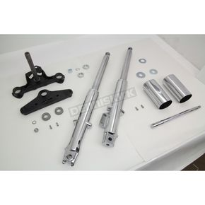 41mm Fork Assembly w/Chrome Sliders - 24-9943