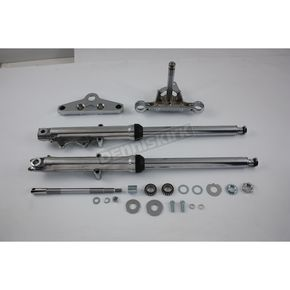 41mm Fork Assembly w/Chrome Sliders - 24-9950
