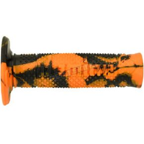 G2 Ergonomics Orange/Black Snake Racing Grips - A26041C94