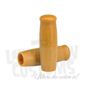 Lowbrow Customs Natural Gum Classic Grips - 004093