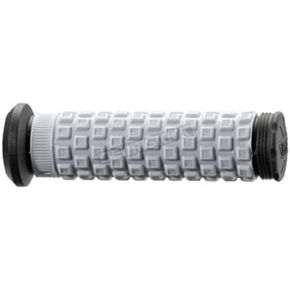 Pro Taper ATV/SNOW Black/Gray Pillow Top Grips - 02-4859