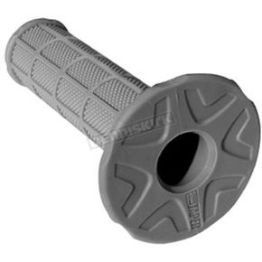 Pro Taper Soft Light Gray Full Waffle MX Grips - 02-4835