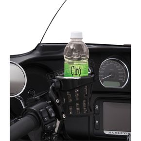 Black Drink Holder w/Perch Mount - 50611
