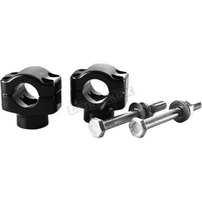 British Customs Black 1 1/8 in. Handlebar Clamps - BC305-014