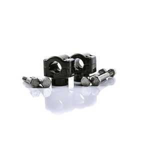 British Customs Black 1 in.  Handlebar Clamps - BC305-015