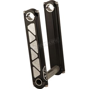 Fly Racing Black 3 in. Fixed Height Tech Risers - SR-35-3