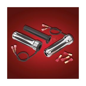 Chrome Heated Comfort Grips - 17-382