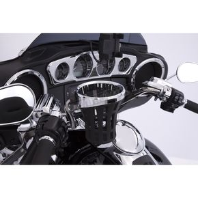 Chrome Big Ass Drink Holder w/Mount - 50810