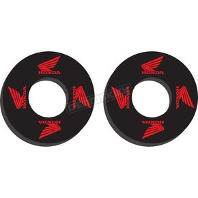 Black/Red Moto Grip Donuts - 22-67300
