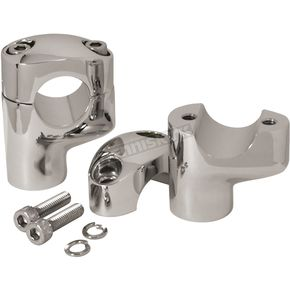 Chrome 2 1/4 in. Offset Risers - 41016