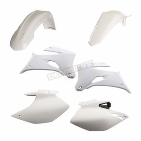 Acerbis White Standard Replacement Plastic Kit - 2106880002