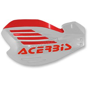 Acerbis White/Red X-Force Handguards - 2170321030