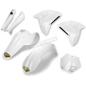 Cycra White Powerflow Body Kit - 1CYC-9306-42