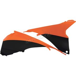 Acerbis 2016 Orange/Black Air Box Cover - 2314295225