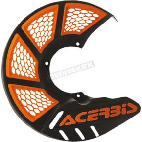 Acerbis Black/2016 Orange Mini X-Brake Disc Cover - 2630555229