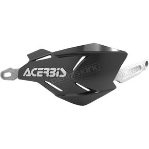 Acerbis Black/White X-Factory Handguards - 2634661007