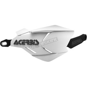 Acerbis White/Black X-Factory Handguards - 2634661035