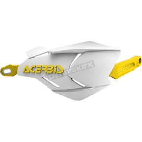 Acerbis Yellow/White X-Factory Handguards - 2634661182