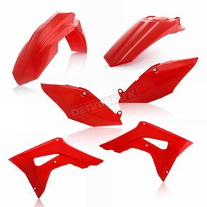 Acerbis 00 CR Red Standard Replacement Plastic Kit - 2630690227