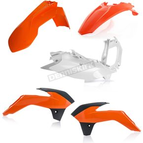 Acerbis 2016 Orange Standard Replacement Plastic Kit - 2374135226