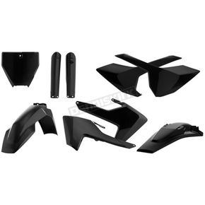 Acerbis Full Black Plastic Kit - 2462600001