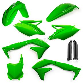 Acerbis  Flo Green Replacement Full Plastic Kit - 2449570235